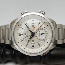 Tudor Heritage Advisor pre-owned 42mm Silver Date Alarm Steel