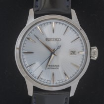 Seiko SRPB43J1 Steel Presage 40.5mm new