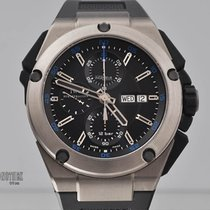 IWC Ingenieur Double Chronograph Titanium Titanium 45mm Black
