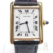 Cartier Yellow gold 28mm Manual winding W5200025 pre-owned