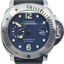 Panerai Luminor Submersible Steel 44mm Blue No numerals United States of America, Florida, Naples