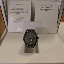 IWC Pilot Chronograph Top Gun Miramar new 2016 Automatic Chronograph Watch with original box and original papers IW388002
