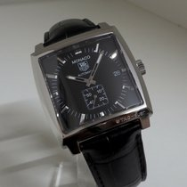 TAG Heuer Monaco Calibre 6 Steel 37mm Black