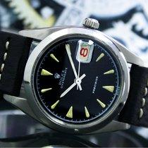 Rolex Сталь Механические Чёрный Без цифр 34mm подержанные Oyster Precision