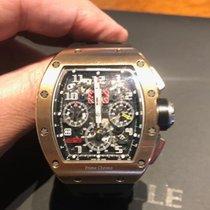 Richard Mille RM011 Ruzicasto zlato RM 011 50mm rabljen