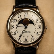 L.Leroy White gold Manual winding 72MA0007 pre-owned