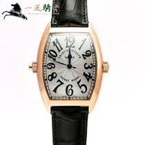 Franck Muller Red gold Automatic Silver 46mm pre-owned Secret Hours