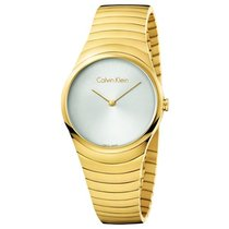 ck Calvin Klein Gold/Steel 33mm Quartz K8A23546 new