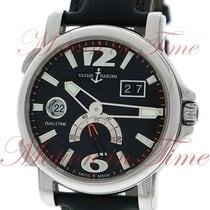 Ulysse Nardin Dual Time Steel 42mm Black Arabic numerals United States of America, New York, New York