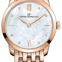 Girard Perregaux Rose gold Automatic Mother of pearl 30mm new 1966
