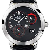Glashütte Original PanoMaticReserve XL White gold 42mm Black United States of America, New York, Airmont