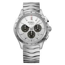 Ebel Sport 1216403  EBEL SPORT CLASSIC 42mm cronografo acciaio argento new