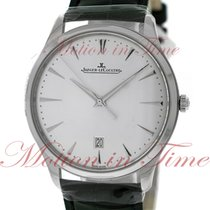 Jaeger-LeCoultre Master Ultra Thin Date Steel 40mm Silver No numerals United States of America, New York, New York
