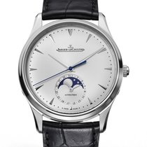 Jaeger-LeCoultre Master Ultra Thin Moon Acero 39mm Plata