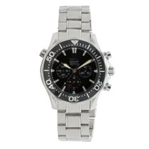 Omega Seamaster 2594.52.00 Mens Automatic Watch Black Dial...
