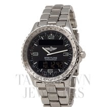 Breitling Chronospace Steel 42mm Black Arabic numerals United States of America, New York, Hartsdale