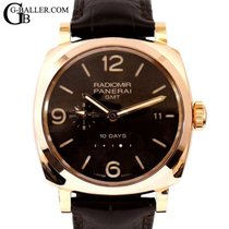 Panerai Red gold Automatic Brown Arabic numerals 45mm new Special Editions