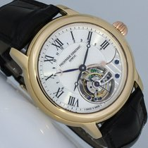 Frederique Constant Manufacture Tourbillon Or rouge 41mm Argent Romain