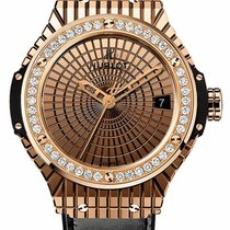 Hublot Rose gold Automatic Gold 41mm new Big Bang Caviar