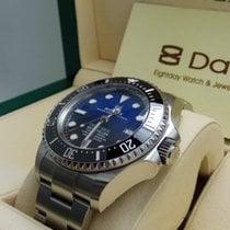 劳力士  8DAYwatch-New 126660BL DEEPSEA SEA-DWELLER STAINLESS STEEL