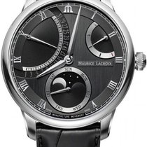 Maurice Lacroix Masterpiece new Automatic Watch with original box and original papers MP6588-SS001-331-1