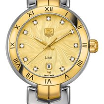 TAG Heuer Link Lady Steel 29mm Champagne Roman numerals United States of America, California, Moorpark