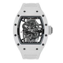 Richard Mille Bubba Watson White Ceramic  Watch RM 055