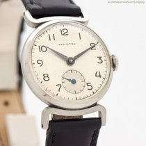 Hamilton Steel 28mm Manual winding pre-owned United States of America, California, Beverly Hills