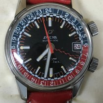 Enicar Steel 36mm Automatic 148-35-02 new