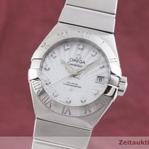 Omega Constellation Ladies Ocel 28.5mm Stříbrná