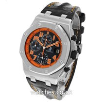 Audemars Piguet Royal Oak Offshore Chronograph Volcano Steel 42mm Black