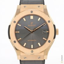 Hublot Classic Fusion Racing Grey 511.OX.7081.LR Very good Rose gold 45mm Automatic
