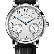 A. Lange & Söhne 1815 White gold 39mm Silver Arabic numerals United States of America, Florida, Sunny Isles Beach