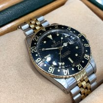 Rolex GMT-Master Gold/Steel 40mm Black No numerals United States of America, New York, New York