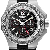 Breitling Bentley GMT Steel 45mm Black No numerals United States of America, New Jersey, Princeton
