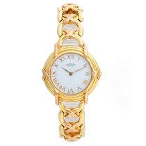 Hermès Yellow gold Quartz White Roman numerals 26mm pre-owned