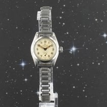 Rolex Oyster Precision Steel 25mm Champagne