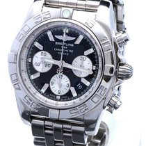 Breitling Chronomat B01 Black Pilotband Steel 44 mm (2009)