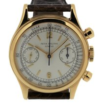 Patek Philippe 1463J screw down back Chronograph