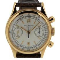 Patek Philippe 1463J screw down back Chronograph