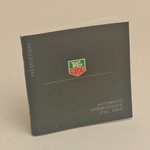 TAG Heuer Automatic Chronograph Cal. 2894 Manual Info Booklet