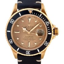 Rolex Submariner Date 40mm In Oro Giallo 18kt Crystal Nipple...