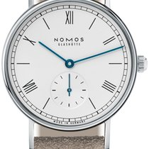NOMOS Ludwig 33 Steel 32.8mm White United States of America, New York, Airmont