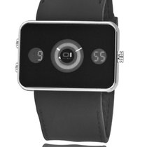 The One Binary Digital+Analog Watch Turning Disc IP102-3BK Neu...