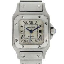 Cartier Santos Galbée Steel 24mm Silver Roman numerals United States of America, Florida, Boca Raton