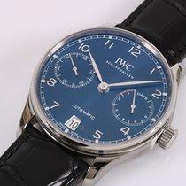 IWC Portuguese Automatic Steel 42,3mm Blue Arabic numerals