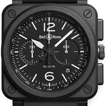 Bell & Ross BR 03-94 Chronographe BR0394-BL-CE 2019 new