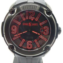 Steelcraft 48mm Quartz new Black