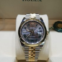Rolex Datejust II Gold/Steel 41mm Grey No numerals