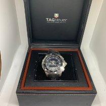 TAG Heuer Chronograph 43mm Quartz 2010 pre-owned Aquaracer 300M Black